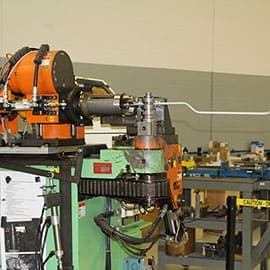FormFab LLC Production Fabrication - CNC bender, small diameter tube, low volume production, bent fuel line