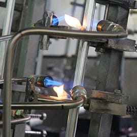 FormFab LLC Production Fabrication - aluminum brazing process, heating stage, rotary table, tube assembly, coolant tube